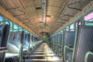 Abandoned Passenger Car