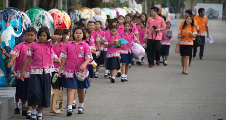 2016 Bangkok Elephant Parade