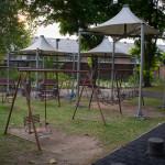 Swings at Benjakiti Park