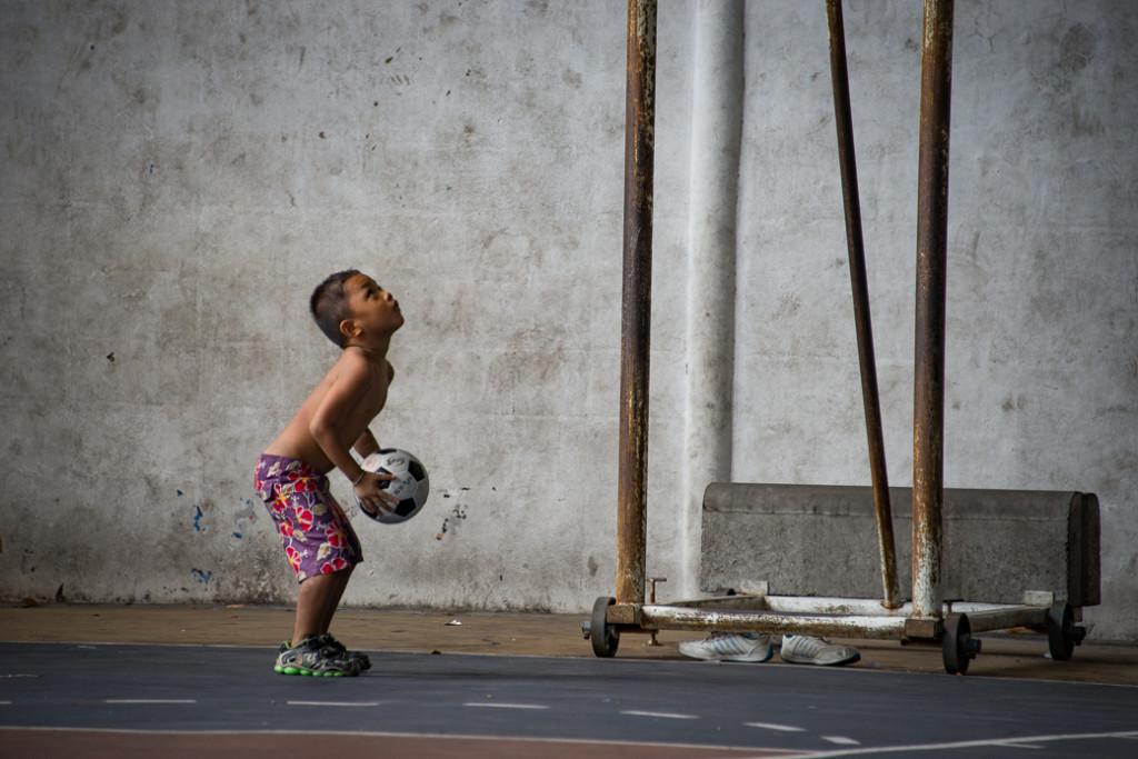 Little boy in Klong Toey Slum