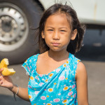 Girl in Klong Toey Slum