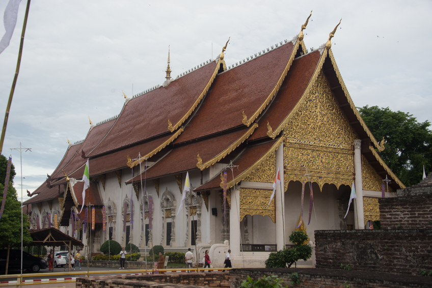 wat or temple in chiang mai