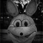 creepy rabbit