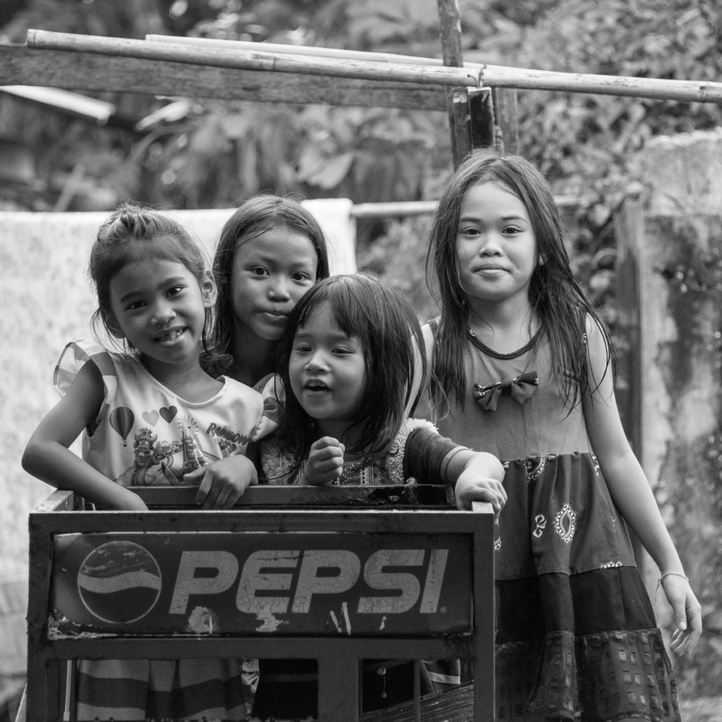 thai girls in slum