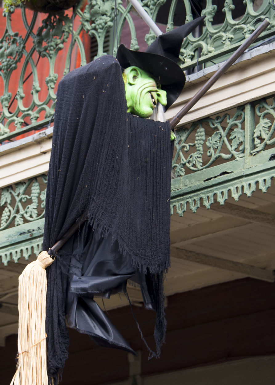 Halloween Decorations in the French Quarter - Christopher Ryan