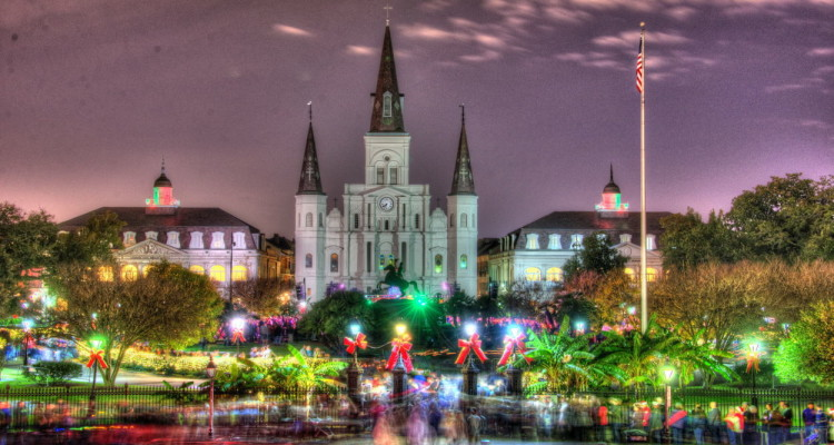Christmas In French.French Quarter Christmas Christopher Ryan