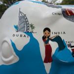 World traveling elephant