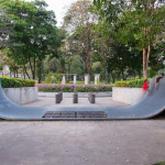 Abandoned Skate Ramp at Benjakiti Park