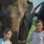 Children at King's Cup Elephant Polo