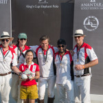 Team at King's Cup Elephant Polo