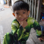 Boy in Klong Toey Slum