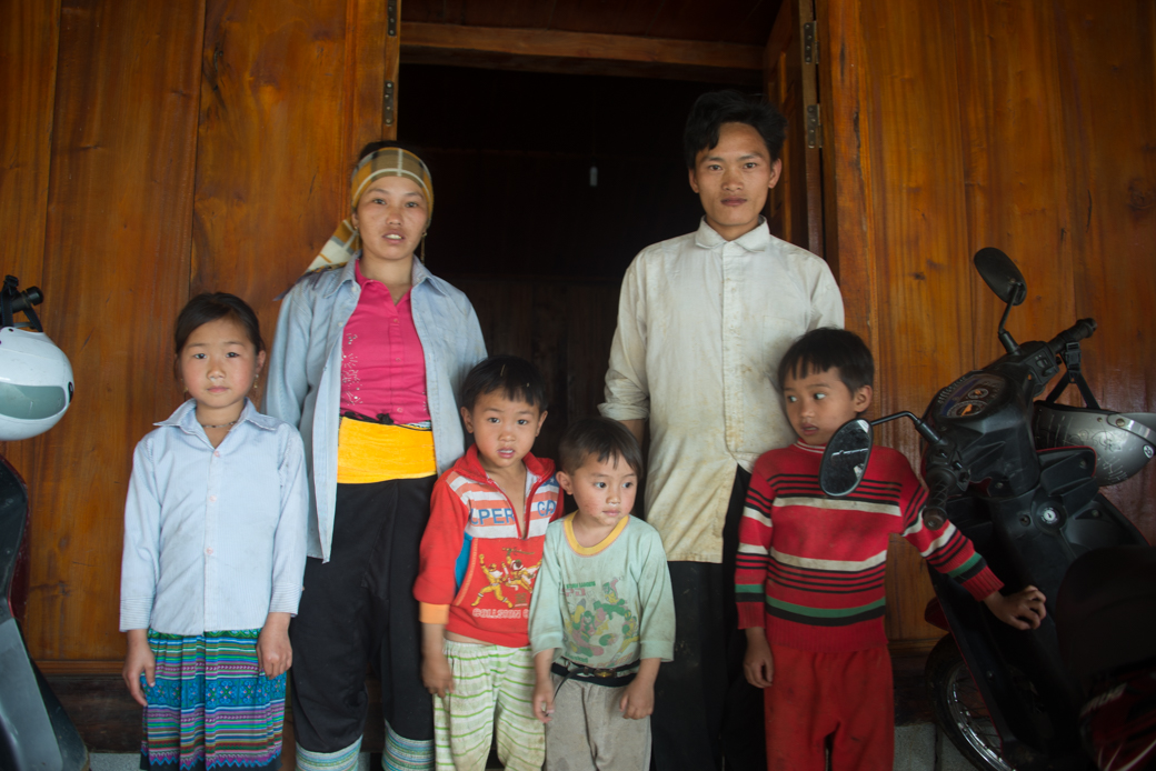 Vietnam Farming Family