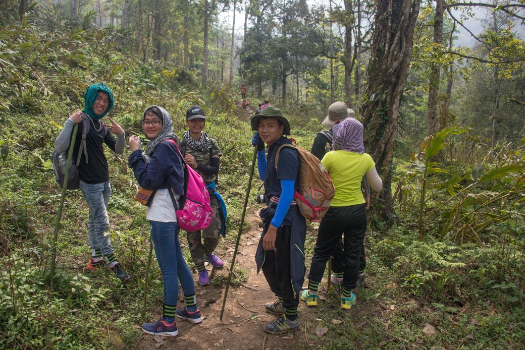Hiking in Sapa Vietnam