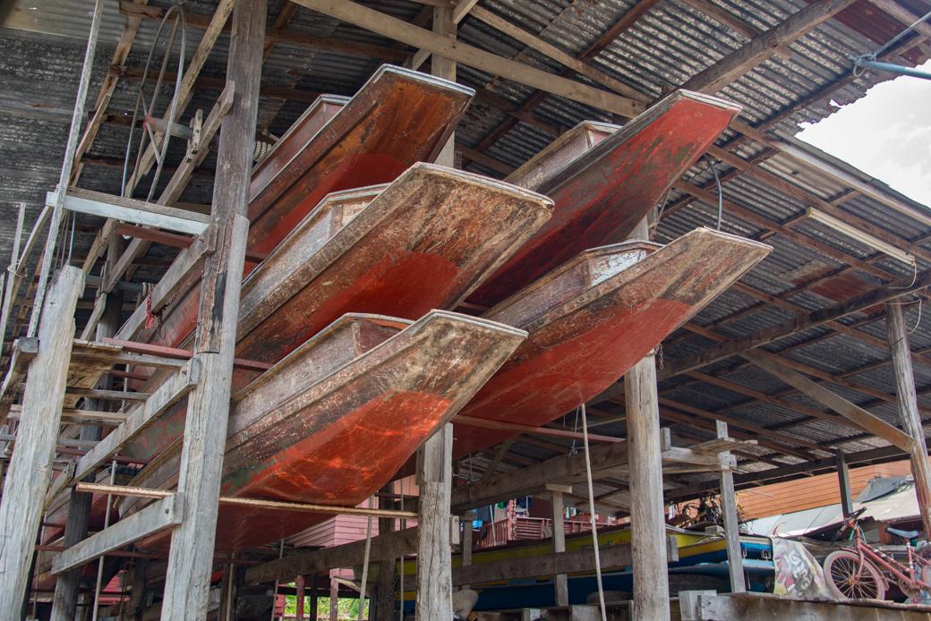 Floating Market Row Boats