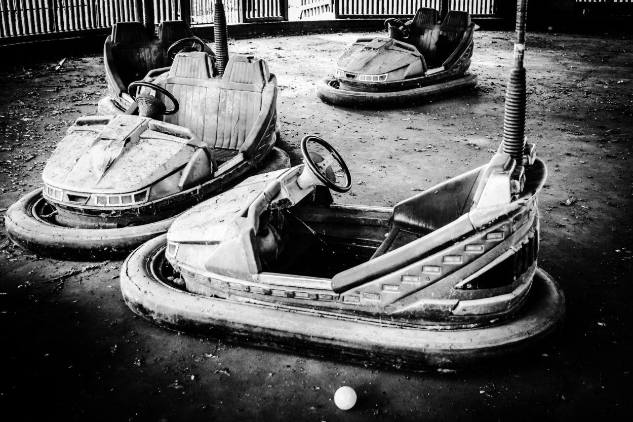 Abandoned Amusement Park Yangon Christopher Ryan