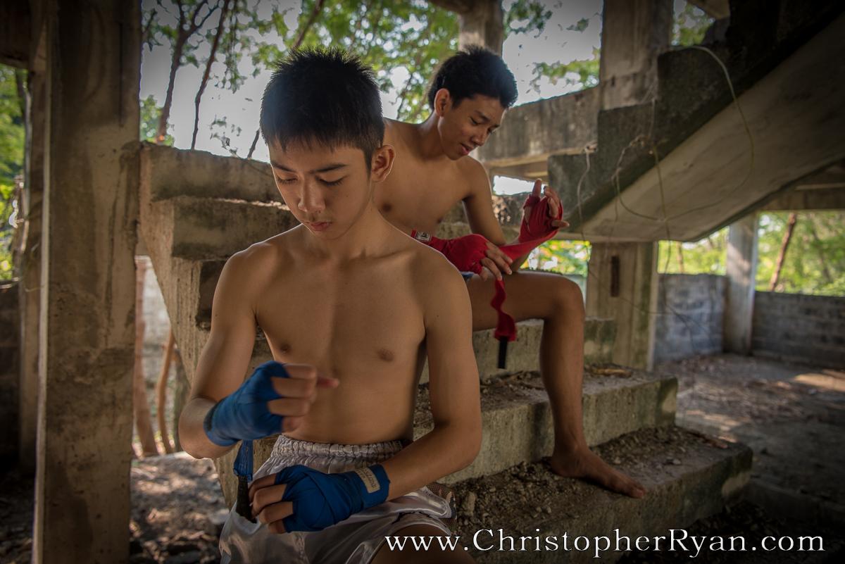 Thai teen boy