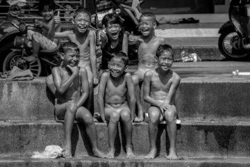 naked children on the streets of bangkok skinny dipping children shirtless boys