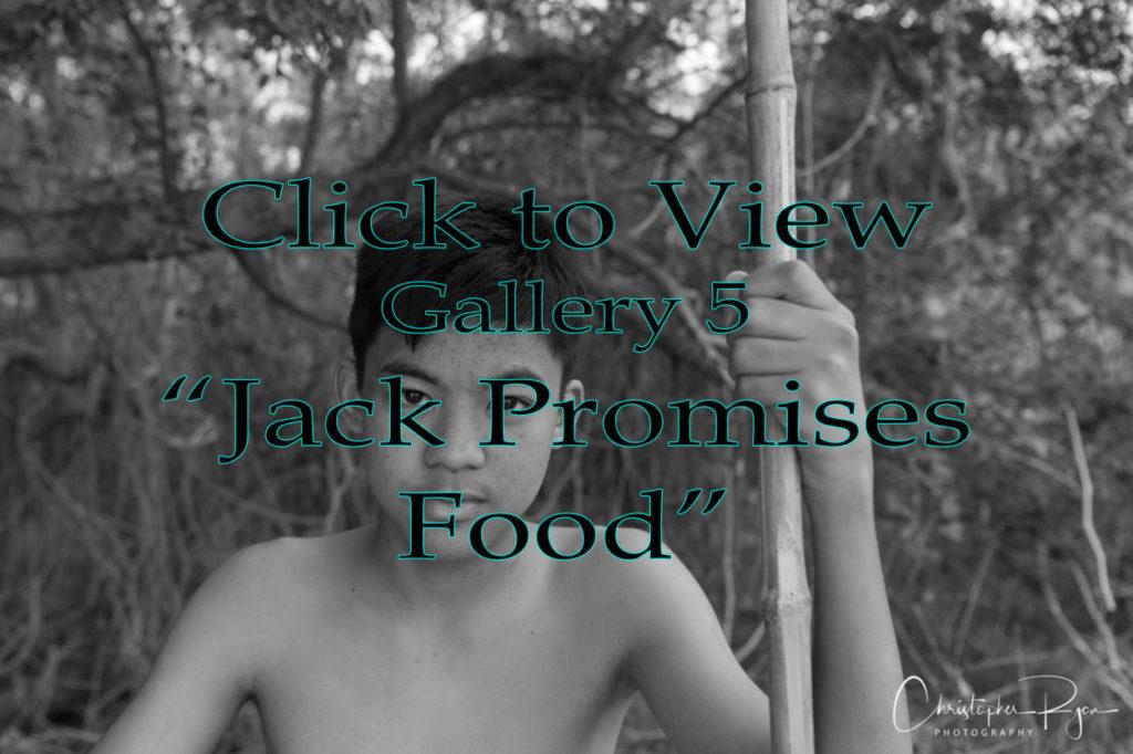 lord of the flies - jack promises food