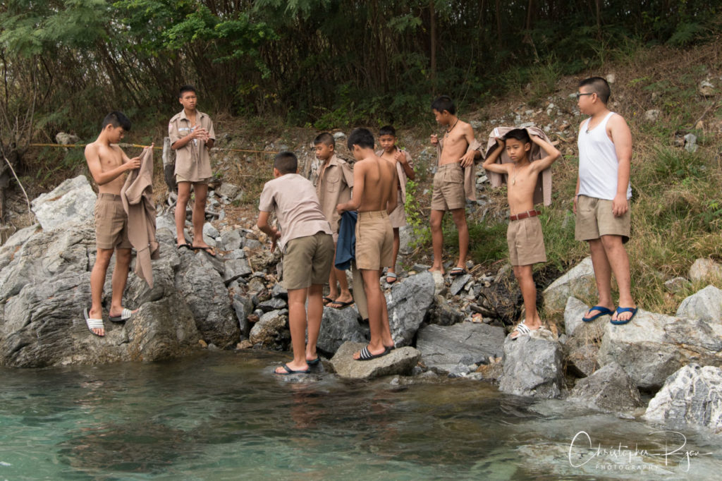 boys taking off their clothes
