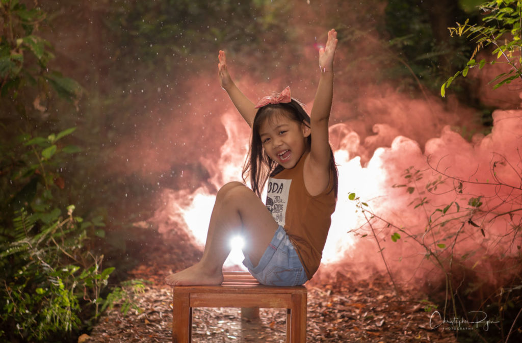 female child singer in Bangkok, Thailand